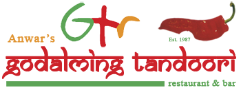 Anwar's GTR – Godalming Tandoori Logo